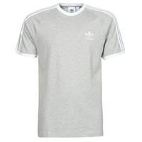 textil Herre T-shirts m. korte ærmer adidas Originals 3-STRIPES TEE Lyng / Grå / Medium
