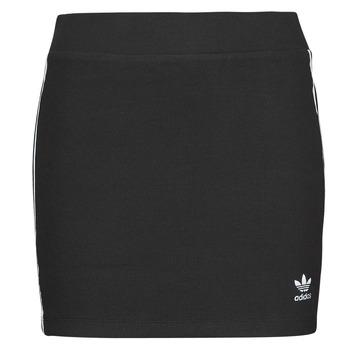 textil Dame Nederdele adidas Originals 3STRIPES SKIRT Sort