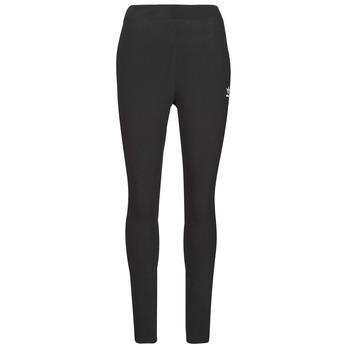 textil Dame Leggings adidas Originals TIGHT Sort