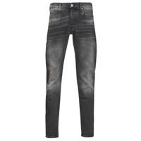 textil Herre Smalle jeans G-Star Raw 3301 SLIM Grå