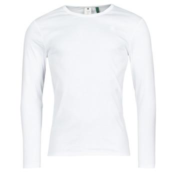 Langærmede T-shirts G-Star Raw  BASE R T LS 1-PACK