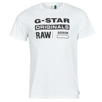 T-shirts m. korte ærmer G-Star Raw  GRAPHIC 8 R T SS