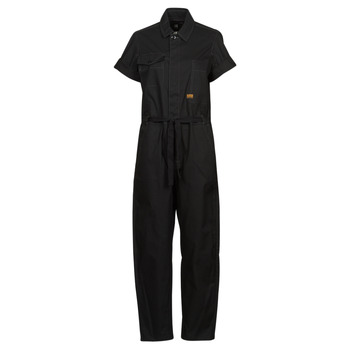 textil Dame Buksedragter / Overalls G-Star Raw ARMY JUMPSUIT SS Sort