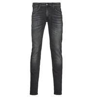 textil Herre Smalle jeans Le Temps des Cerises 712 JOGG Sort