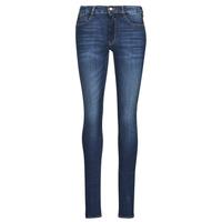 textil Dame Smalle jeans Le Temps des Cerises PULP HIGH OLBIA Blå
