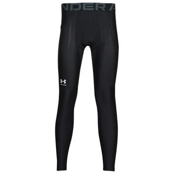 textil Herre Leggings Under Armour UA HG ARMOUR LEGGINGS Sort / Hvid
