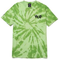 textil Herre T-shirts & poloer Huf T-shirt haze brush tie dye ss Grøn
