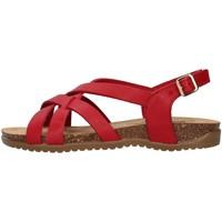 Sko Dame Sandaler Bionatura 34A2168 RED