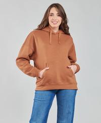 textil Dame Sweatshirts Volcom STONE HEART HOODIE Brun