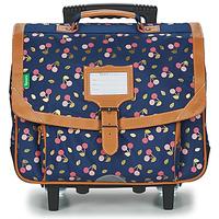 Tasker Pige Rygsække / skoletasker med hjul Tann's ALEXA TROLLEY CARTABLE 38 CM Marineblå