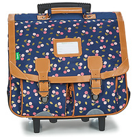 Tasker Pige Rygsække / skoletasker med hjul Tann's ALEXA TROLLEY CARTABLE 41 CM Marineblå