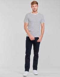 textil Herre Lige jeans Lee BROOKLYN STRAIGHT Blå / Sort