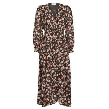 textil Dame Lange kjoler Betty London PILOMENE Sort