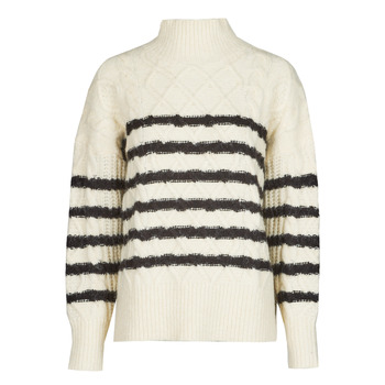 textil Dame Pullovere Betty London PARADE Beige / Marineblå
