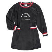 textil Pige Korte kjoler Karl Lagerfeld RUBIS Sort