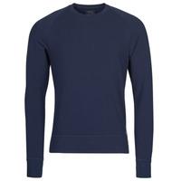 textil Herre Langærmede T-shirts Polo Ralph Lauren LS CREW SLEEP TOP Marineblå