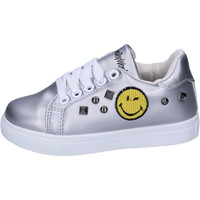 Sko Pige Lave sneakers Smiley BJ987 Sølv