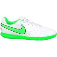 Sko Børn Fodboldstøvler Nike JR Tiempo Legend 8 Club IC Hvid