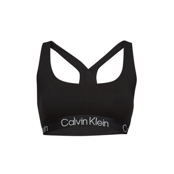 Undertøj Dame Sports-BH'er / toppe Calvin Klein Jeans UNLINED BRALETTE Sort