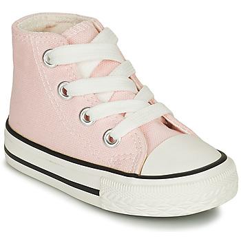 Sko Pige Høje sneakers Citrouille et Compagnie NEW 19 Pink