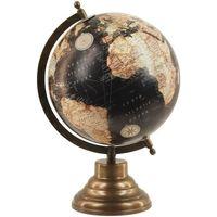Indretning Små statuer og figurer Signes Grimalt Globe World 20 Cm Negro