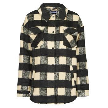 textil Dame Jakker / Blazere Noisy May NMLULU Beige / Sort