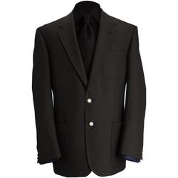 textil Herre Jakker / Blazere Brook Taverner BR051 Black