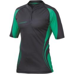 textil Herre T-shirts m. korte ærmer Kooga KG105 Black / Emerald Green