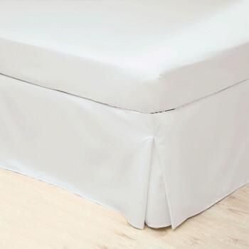 Indretning Sengelinned Belledorm Narrow Single BM179 White