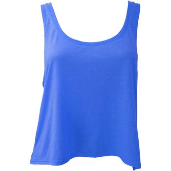 textil Dame Toppe / T-shirts uden ærmer Bella + Canvas BE8880 True Royal