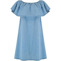 textil Dame Korte kjoler Animal  Chambray Blue