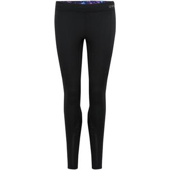 textil Dame Leggings Animal  Black
