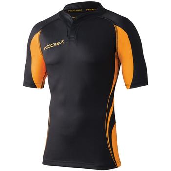 textil Herre T-shirts m. korte ærmer Kooga KG105 Black / Gold