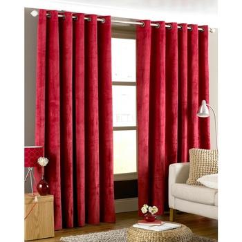 Indretning Gardiner og persienner Riva Home 117 x 183cm Red