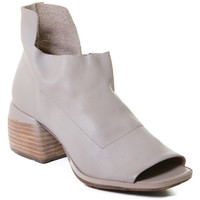 Sko Dame Sandaler Rebecca White T0402 |Rebecca White| D??msk?? kotn??kov?? boty z telec?? k??e v barv?