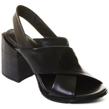 Sko Dame Lave støvletter Rebecca White T0507 |Rebecca White| Elegantn?? ?ern?? kotn??kov?? boty z telec?? k??