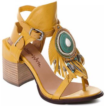 Sko Dame Højhælede sko Rebecca White T0509 |Rebecca White| D??msk?? sand??ly na vysok??m podpatku z okrov??