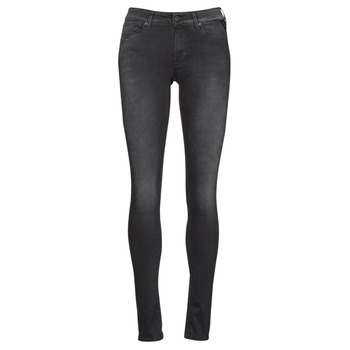 textil Dame Jeans - skinny Replay LUZIEN Sort