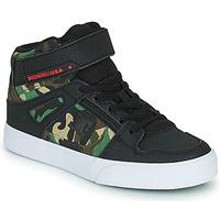 Sko Dreng Høje sneakers DC Shoes PURE HIGH-TOP EV Sort / Camouflage