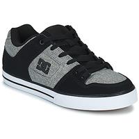 Sko Herre Skatesko DC Shoes PURE Grå / Sort