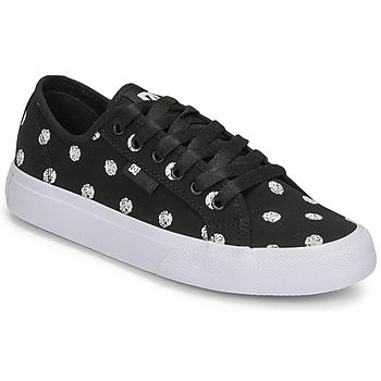 Sko Dame Lave sneakers DC Shoes MANUAL TXSE Sort / Hvid
