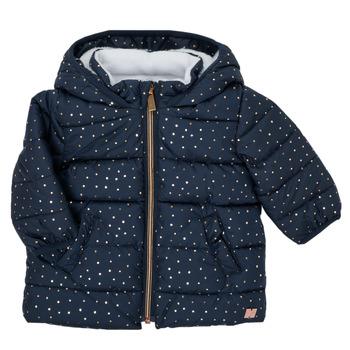 textil Pige Dynejakker Carrément Beau AIGUE-MARINE Marineblå