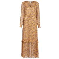 textil Dame Lange kjoler Vila VIFALIA Cognac
