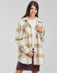 textil Dame Jakker / Blazere Vila VIKIMMI Hvid / Beige
