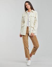 textil Dame Lige jeans Vila VIOTAS Brun