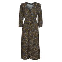 textil Dame Lange kjoler Vila VIZUGI Sort / Gul / Blå