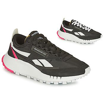 Sko Dame Lave sneakers Reebok Classic CL LEGACY Sort / Hvid