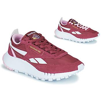 Sko Dame Lave sneakers Reebok Classic CL LEGACY Bordeaux / Hvid