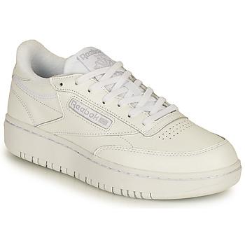 Sko Dame Lave sneakers Reebok Classic CLUB C DOUBLE Hvid