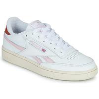 Sko Dame Lave sneakers Reebok Classic CLUB C REVENGE Hvid / Pink